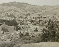 RPPC Mill Valley CA Marin County Aerial View EKC Real Photo Postcard 1930-1950