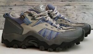 Cannondale Specialty Mountain Bike Shoes Clip In Gray Blue Roam Sports Size 6