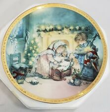 Hamilton Collection Lisi Martin The Christmas Story Collector's Plate 1993 Puppy