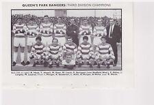 Team Pic from 1967-68 FOOTBALL Annual - QUEENS PARK RANGERS + WOLVERHAMPTON