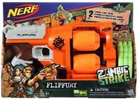 Nerf Zombie Strike Flipfury Foam Dart Gun Ages 8+ Toy Blaster Fight Play Gift