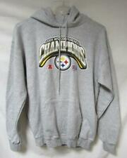 Pittsburgh Steelers Mens Size Large 2005 AFC Conference Champions Hoodie A1 2605