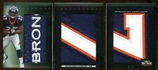 KNOWSHON MORENO 2009 TRIPLE PATCHES LOGO RC 1/1 MASTERPIECE  TRUE 1/1 RC  BEAUTY