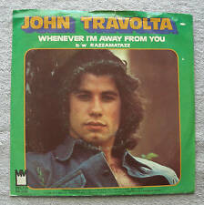 John Travolta 1976 Midland 45rpm When I'm Away From You b/w Razzamatazz