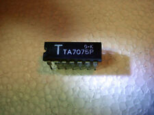IC TOSHIBA TA7075 14 PN Chip Amplifier Integrated Chip PC Circuit Board Vintage