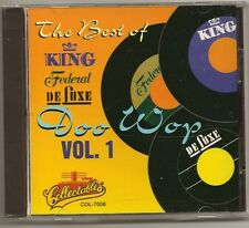 "DOO WOP, CD ""THE BEST OF KING FEDERAL & DELUXE  Vol. 1"" NEW SEALED"