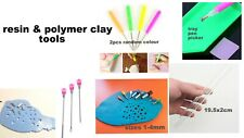 Rhinestone Picker roller needle cutter puncher spoon tool polymer clay resin