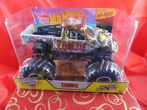 Mattel Hot Wheels 2014 MONSTER JAM Zombie OFF ROAD 1:24