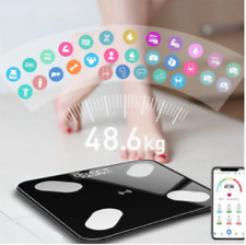 Body Fat Scale Smart Electronic LED Digital Weight Bathroom Balance Bluetooth