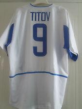 Russia 2002-2004 Away Titov 9 Football Shirt Size Large Adult L /40616