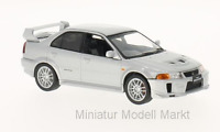#214 - Whitebox Mitsubishi Lancer Evo V RS - silber - RHD - 1:43