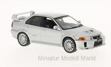 #214 - Whitebox Mitsubishi Lancer Evo V RS - silber - RHD - 1:43