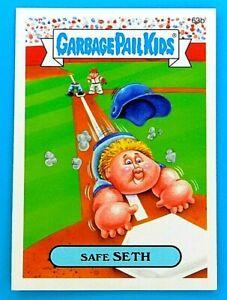 2015 Garbage Pail Kids Safe SETH Series 1 GPK Vintage Sticker Card Topps 63b
