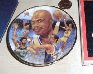 Kareem Abdul Jabbar Los Angeles Lakers Gartlan Miniature 3 Inch Collector Plate