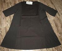 NOOK Lagenlook wunderschönes Kleid-Tunika in schwarz G4 Neu