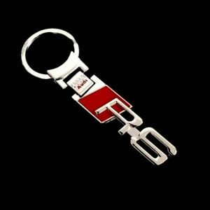 Audi RS Metal Keyring RS3 RS4 RS5 RS6 RS7 TTRS - UK Seller -Quick Post