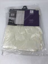"""Lush Decor Lillian Ivory Beige Shower Curtain 72""""x72"""" BRAND NEW IN PACKAGING"""