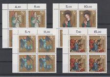 Bund 1991 Viererblock Eckrand Mi.Nr.1578-1581 Postfrisch ** Einwandfrei (2)