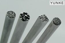 Chasing tools set , repousse tools, chasing punch, stamping tool texturing tool