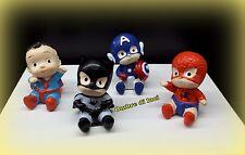 BOMBONIERA COMPLEANNO BATTESIMO NASCITA  PERSONAGGIO BABY EROI BATMAN SPIDERMAN