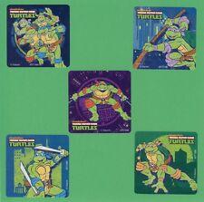 10 Teenage Mutant Ninja Turtles Classic - Large Stickers - Leonardo, Donatello