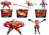 Incredibles 2 Elastigirl Edna Blue Doll Deluxe Costume Ages 3+ Toy Play Glasses