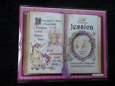Jessica Princess Unicorn Mount Gift With Verse And Photo Space - Choose A Frame