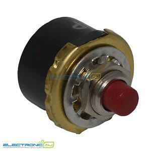 Derwent (Klixon Style) Motor Overload Protection Switch FPM (Front Panel Mount)