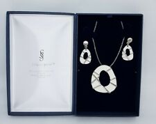 Silver Spirit Celtic Jewellery Set Pendant & Earrings New