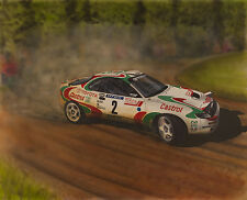 Toyota Celica by Jeff Stroud. The RAC Rally 1993.