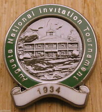1934 Enamel Golf ball marker commemorating the inaugural (first) Masters Augusta