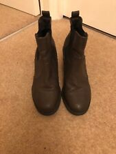H&M Brown Ankle Chelsea  Boots Size 4 37