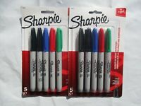 Sharpie Permanent Fine-Point Markers, $11.98, Assorted Colors, Pack Of 5,2 Packs