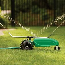NEW ORBIT 58322 CAST IRON BODY TRAVELING LAWN SPRINKLER AUTO WATERING SYSTEM W