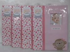 NEW CASE OF 4 Just One You Made by Carter's Baby Girl Memory Books $52