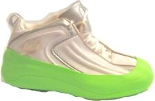 Krussies Athletic Shoe Cover Mens Size Large Fits 9 1/2 -11 (2 count)- NeonGreen