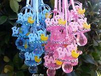 Duckling Pacifier Necklaces Baby Shower Games Duck Favors Prizes U Pick Color
