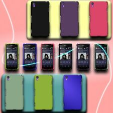 For Sony Xperia Z2 - Hard Matte Rubberized Skin Snap On Phone Cover Case