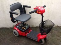 Mobility Scooter Wispa Shoprider Lightweight Car Boot Type. NEW BATTERIES FITTED