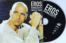 RARE CD CARTONNE CARDSLEEVE 2 TITRES EROS RAMAZZOTTI FUOCO NEL FUOCO 2001