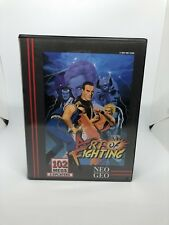 Neo Geo AES Game Art Of Fighting 1 (US Version) original With Boxed And Manual