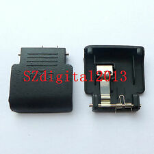 NEW SD Memory Card Door Cover Repair Part For Nikon D3100 With METAL & Spring