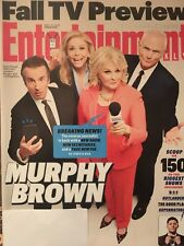 Entertainment Weekly Magazine  September 21, 2018 Murphy Brown Fall TV Preview