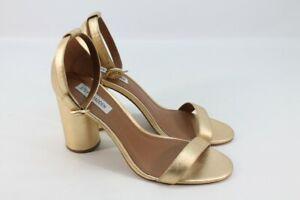 Steve Madden Women's Shanna Gold Dress Sandal 10M