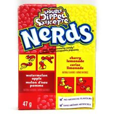 Double Dipped Lemonade Wild Cherry & Apple Nerds 46g Candy American Pack of 8