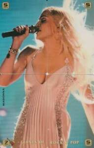 Telefoonkaart / Phonecard ongebruikt prepaid - 4 stuks Madonna (R093)