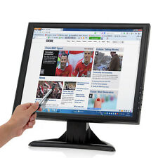 17 Inch Touch Screen LCD Monitor - 1280x1024 Resolution, VGA, HDMI, TV IN, For P