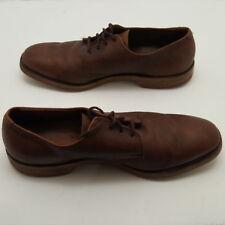Allen Edmonds Mens Wingtip Dress Shoe Brown Leather