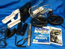 Nintendo Wii Black Console with Accessories