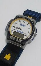 Vintage Timex Ironman Triathlon Men's 8 Lap Analog Digital Watch Indiglo Retro